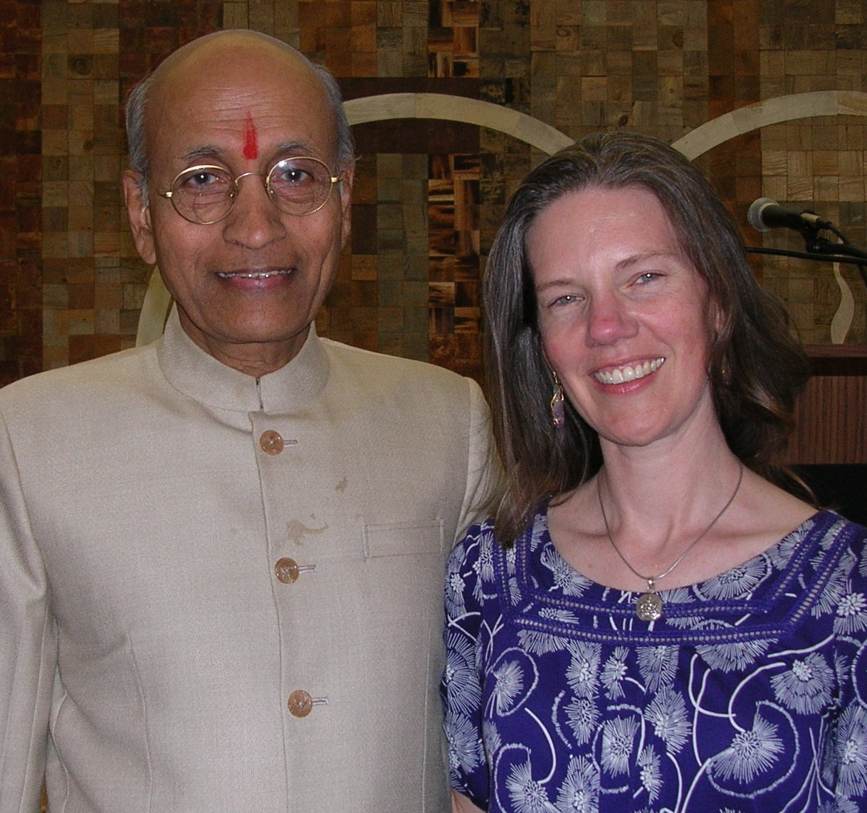 Dr. Vasant Lad and Ivy Ingram